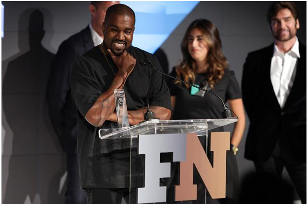 Kanye West bei der FNAA-Preisverleihung in New York.
