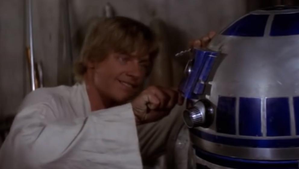 """Luke Skywalker ist auch im Mash-Up zu Adeles """"Hello"""" zu hören"""