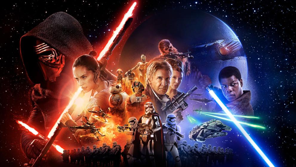 """Am 17. Dezember startet """"Star Wars: Das Erwachen der Macht"""" in den Kinos und 45,8% er Deutschen planen einen Kinobesuch."""