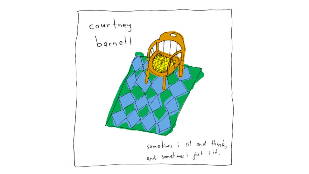 12. Courtney Barnett - SOMETIMES I SIT AND THINK, AND SOMETIMES I JUST SIT