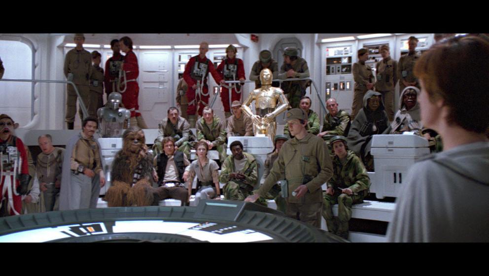 Die Rebellen bereiten sich auf einen Angriff vor: Sie wollen den zweiten Todesstern zerstören, dafür müssen sie aber zuers