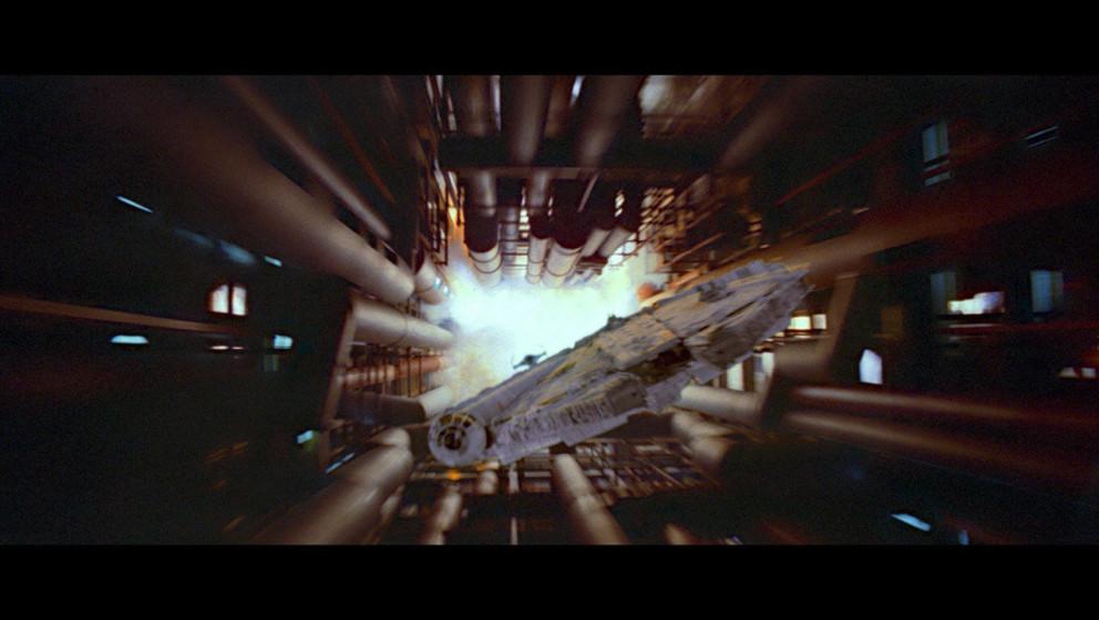 Die anderen Rebellen sind erfolgreich und können den neuen Todesstern zerstören.