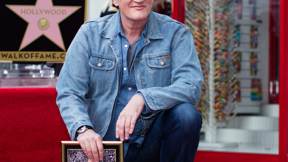 """Ist nun auch mit einem Stern auf dem """"Walk Of Fame"""" verewigt: Quentin Tarantino."""