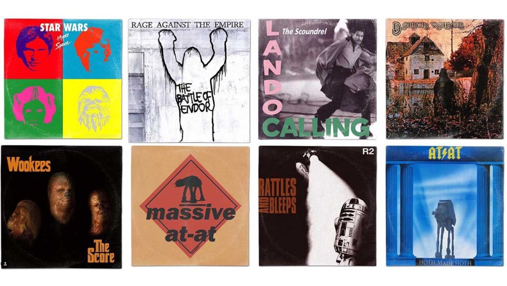 Klassische Alben-Cover aus einer weit, weit entfernten Galaxie...