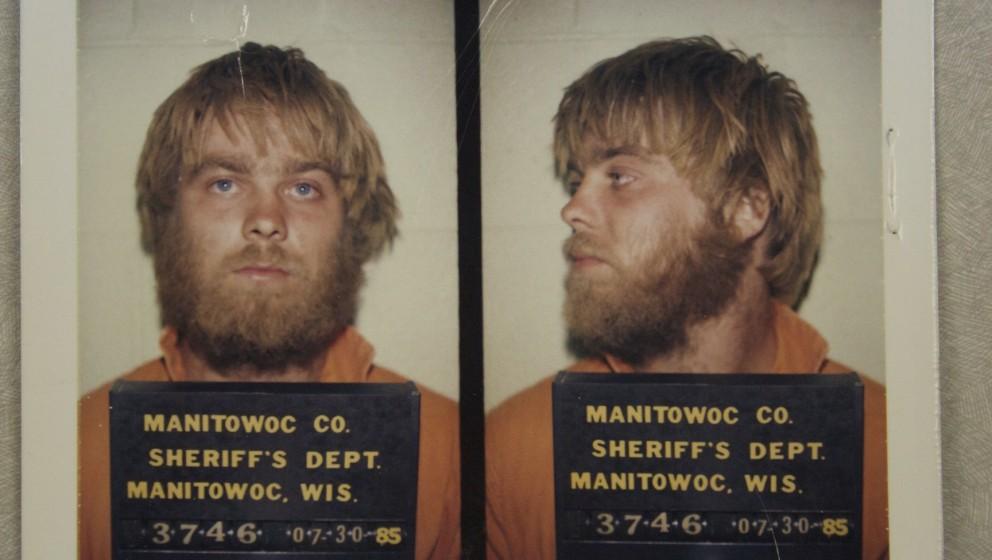 Damals ahnte er noch nicht, was ihm alles blühte: Steven Avery bei seiner Festnahme 1985