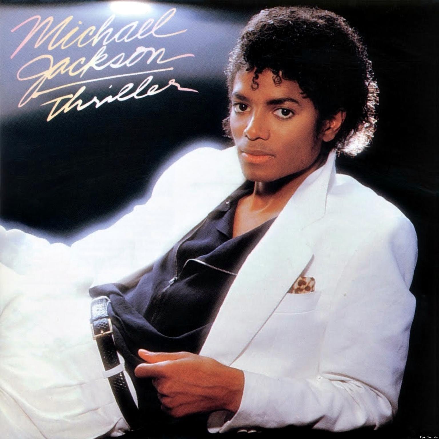 Platz 1: Michael Jacksons THRILLER ist von 1982 und wurde 30 Millionen mal in den Vereinigten Staaten verkauft.