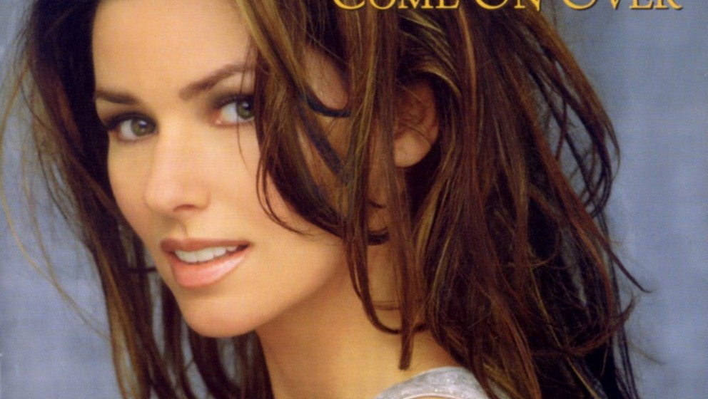 Platz 9: Shania Twains COME ON OVER aus dem Jahr 1997 verkaufte sich in den USA 20 Millionen mal.