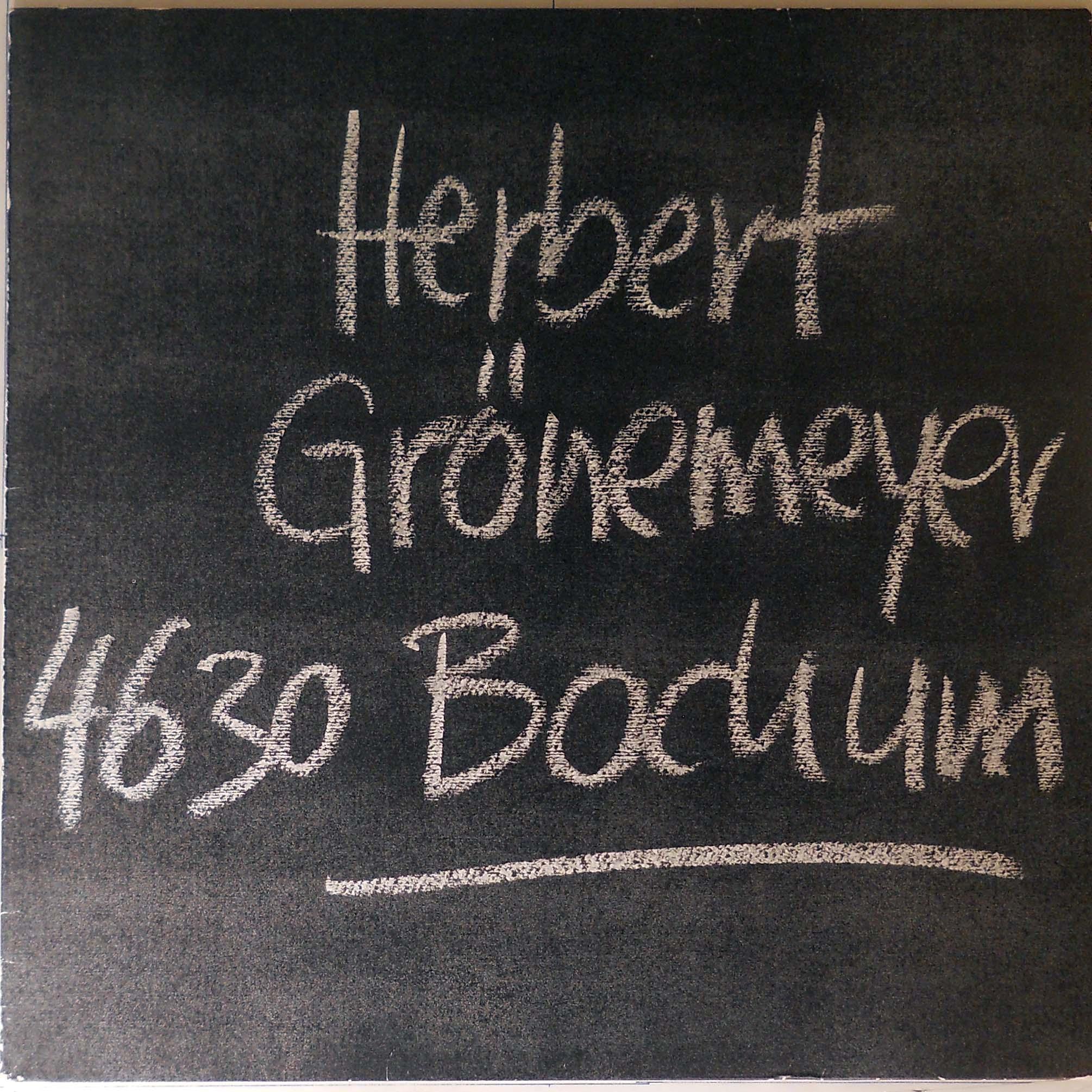 Platz 3: Herbert Grönemeyer verkaufte von seinem Album 4360 BOCHUM von 1984 2,7 Million Exemplare.