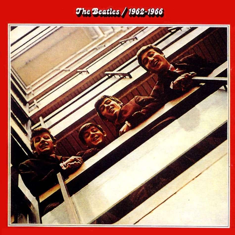 Platz 10: 1962-1966 (Red Album) von den Beatles verkaufte sich in Deutschland 2 Millionen mal.