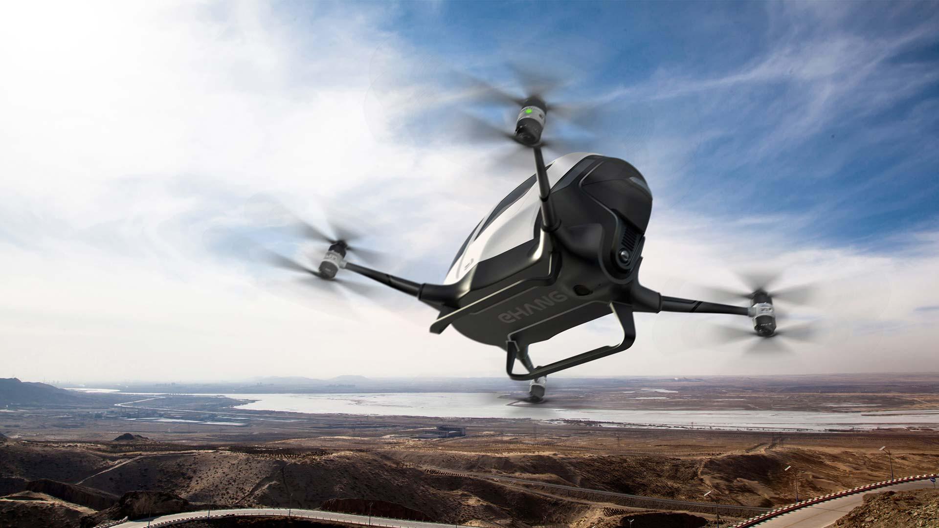 Fliegen wir alle schon bald mit so einer Drohne zur Arbeit?