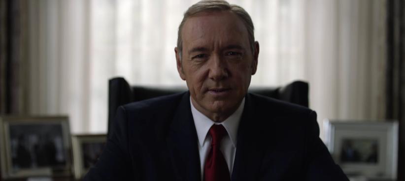 """Sieges- und selbstsicher wie immer: Frank Underwood in """"House Of Cards"""""""