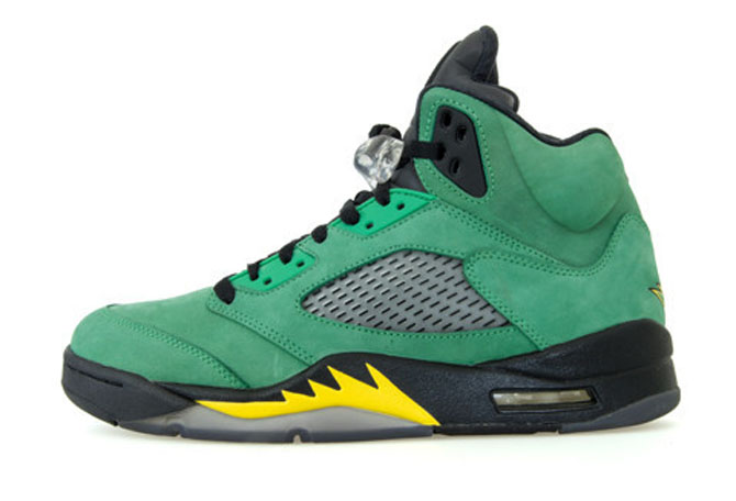 "Platz 10: Air Jordan 5 Retro ""Oregon Ducks"""
