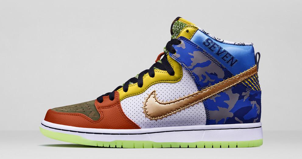 """Platz 4: Nike Dunk SB High """"What The Doernbecher"""""""