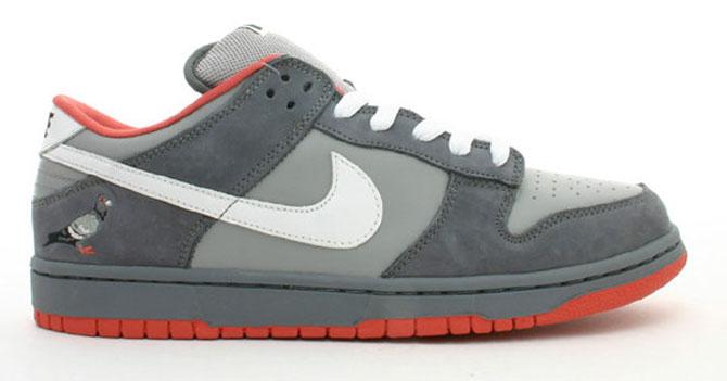 "Platz 7: Nike Dunk SB Low ""Pigeon"""