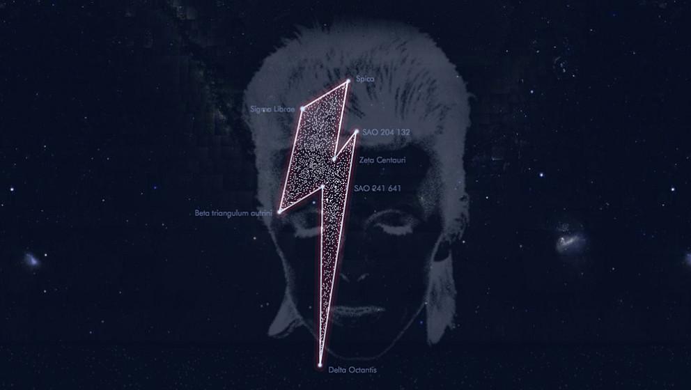'Stardust for Bowie': Der Superstar ist jetzt auch am Sternenhimmel verewigt.