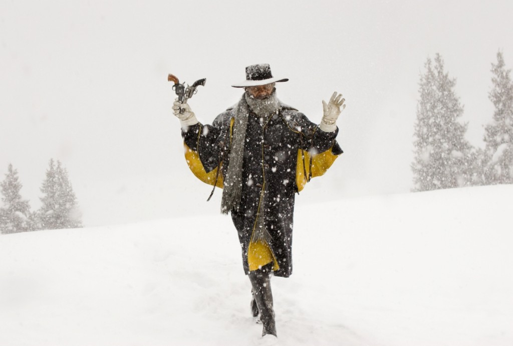 """Auch er ist nicht nominiert: Samuel L. Jackson in Quentin Tarantinos Western """"The Hateful Eight"""""""