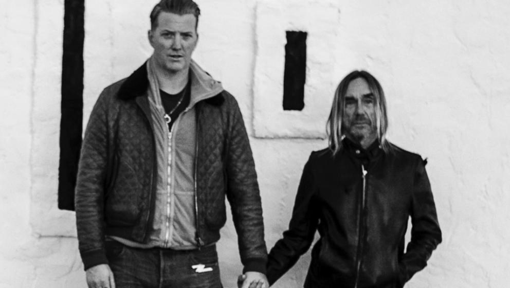 Josh Homme (l.) und Iggy Pop (r.) haben gemeinsam POST POP DEPRESSION aufgenommen.