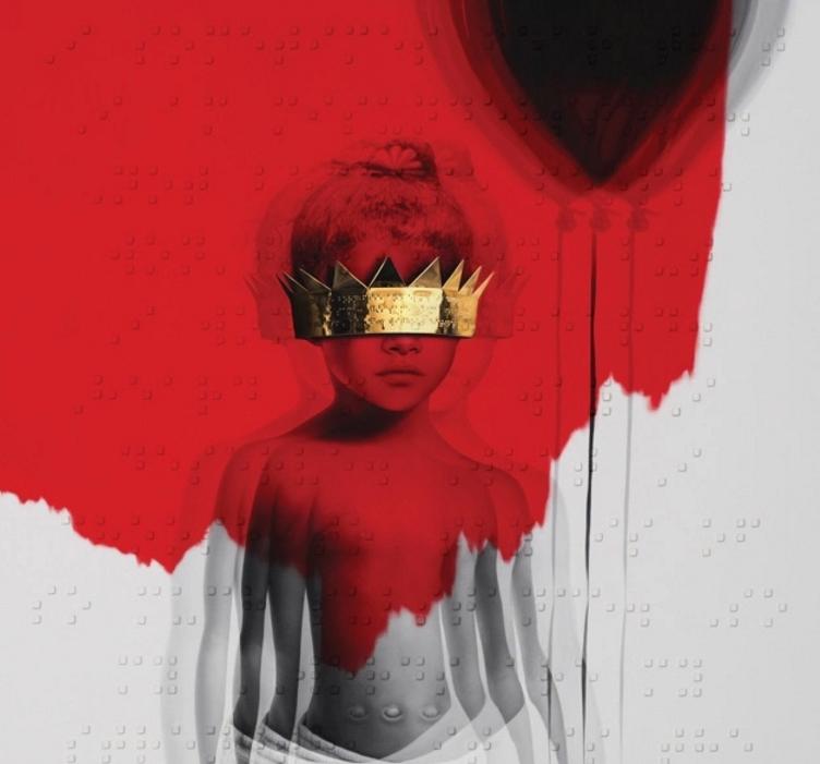 Rihanna stellte ihr neues Album ANTI über Nacht ins Netz