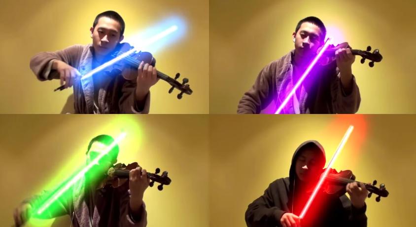 Jedi und Violinist Jeffrey Ding