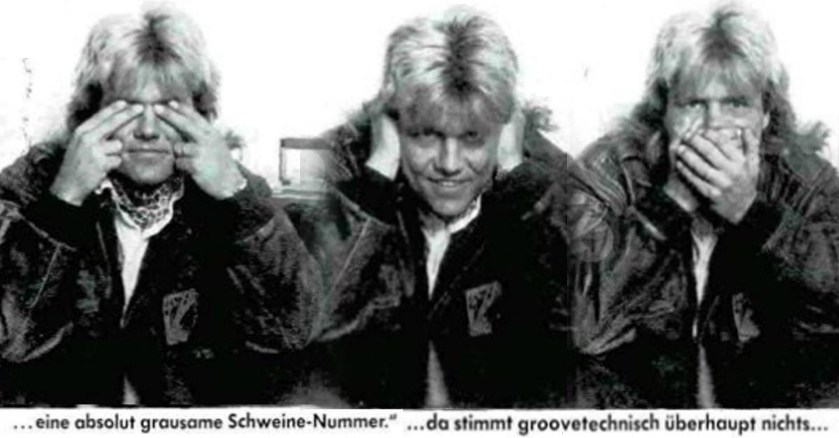 Dieter Bohlen im MUSIKEXPRESS 1988 über Lemmy Kilmister und Motörhead
