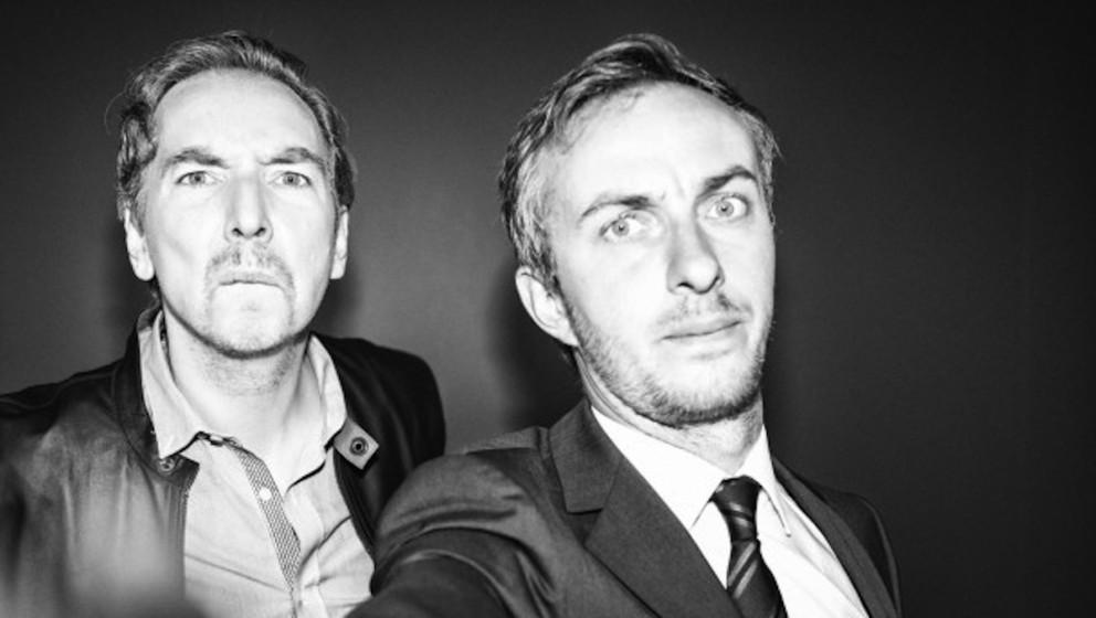 Schulz und Böhmermann im Selfie-Modus