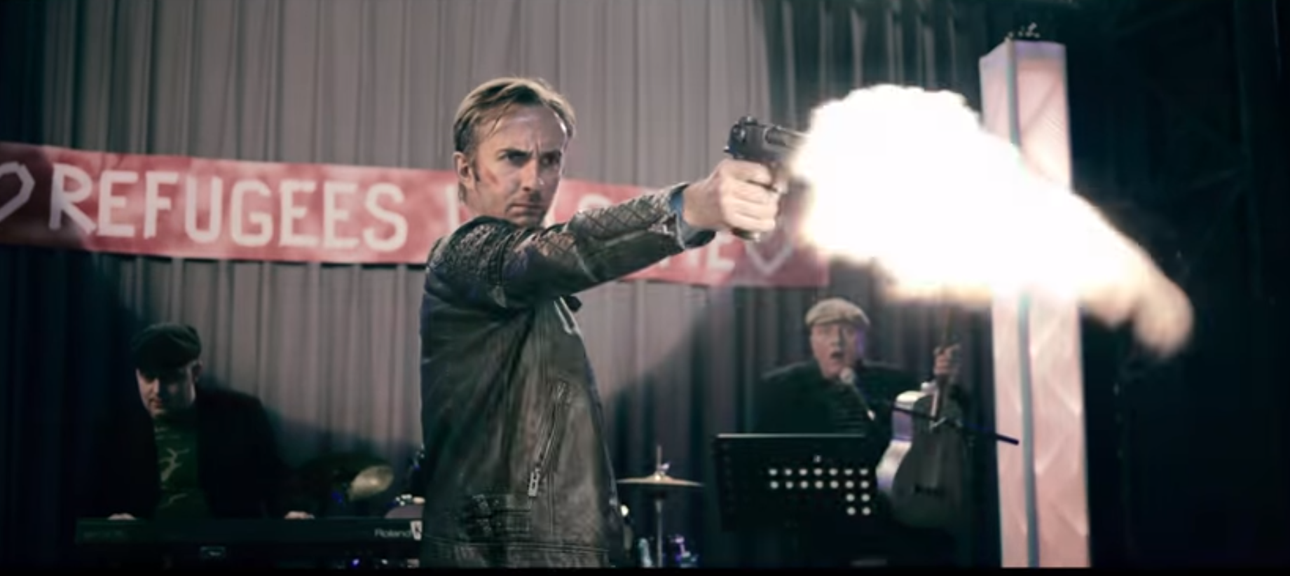 Im neuen Tatort-Trailer: Jan Böhmermann als Nick Tschiller