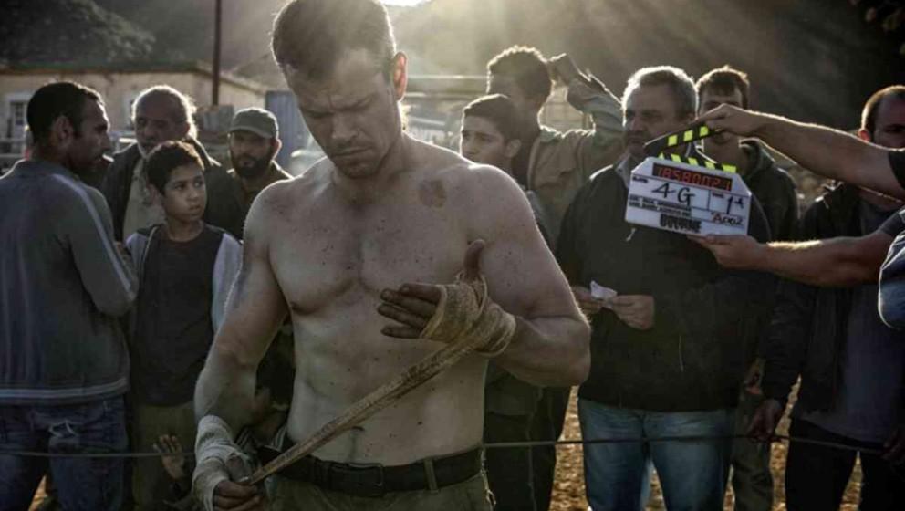 """Matt Damon am Set von """"Jason Bourne"""""""