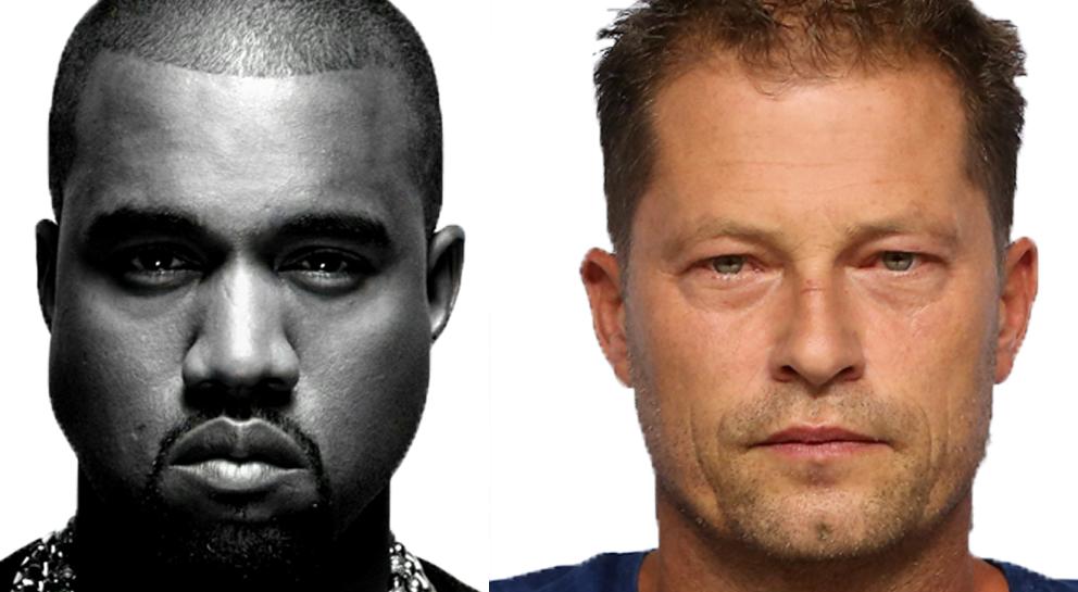 Kanye West und Til Schweiger