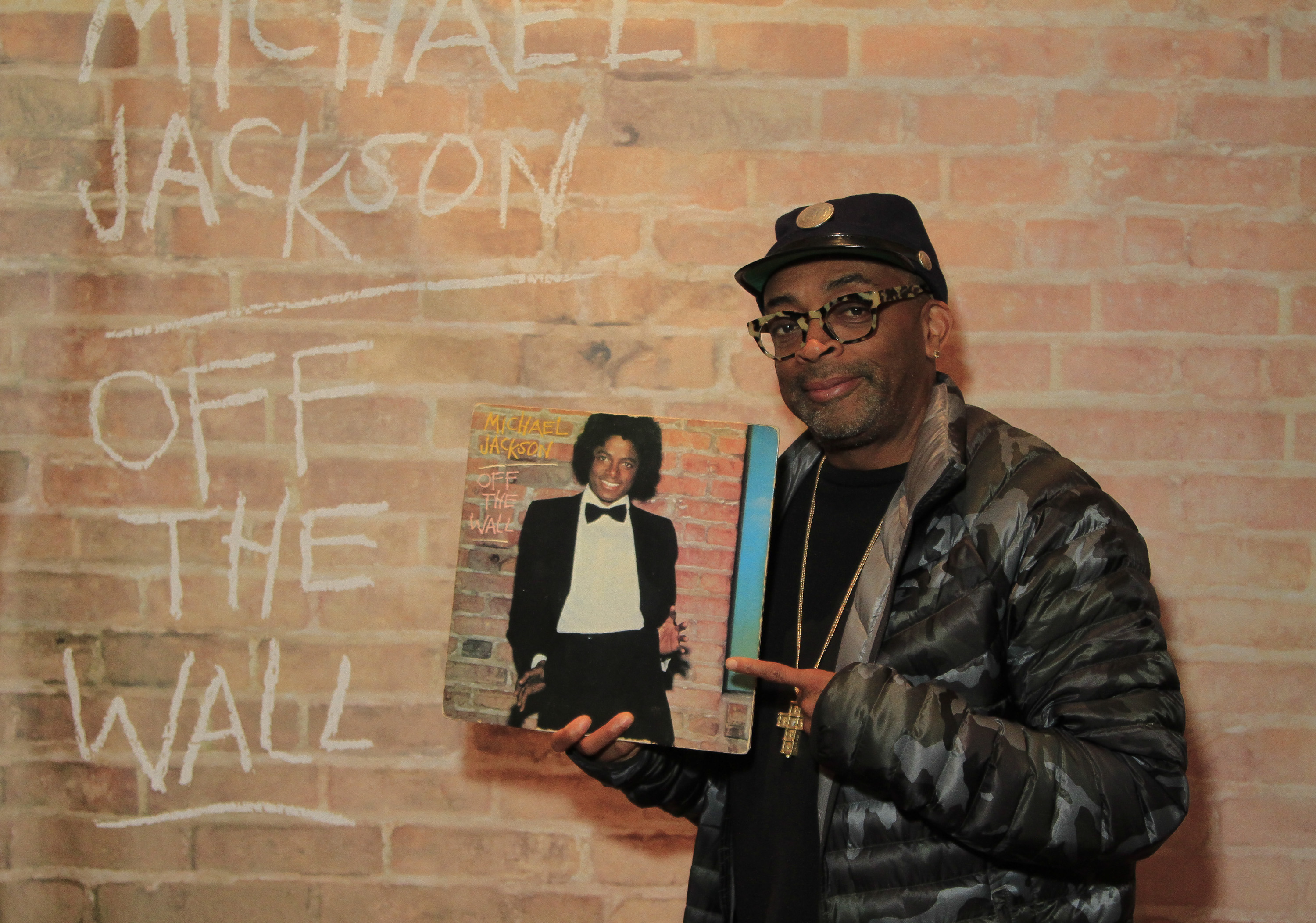 Spike Lee attends a screening of his new film 'Michael Jackson's Journey From Motown To Off The Wall' on February 1, 2016 at