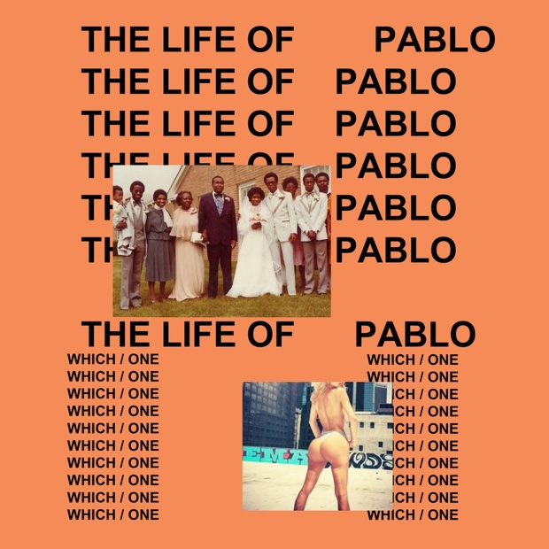 Das finale Cover-Artwork von Kaye Wests neuem Album THE LIFE OF PABLO