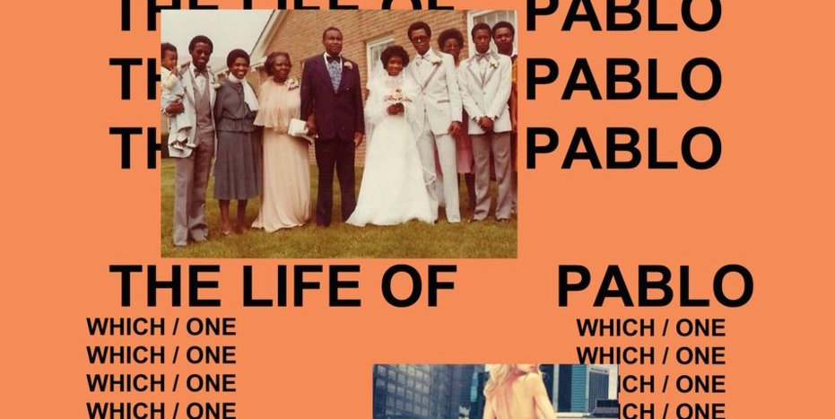 Cover-Artwork des neuen Albums von Kanye West: THE LIFE OF PABLO