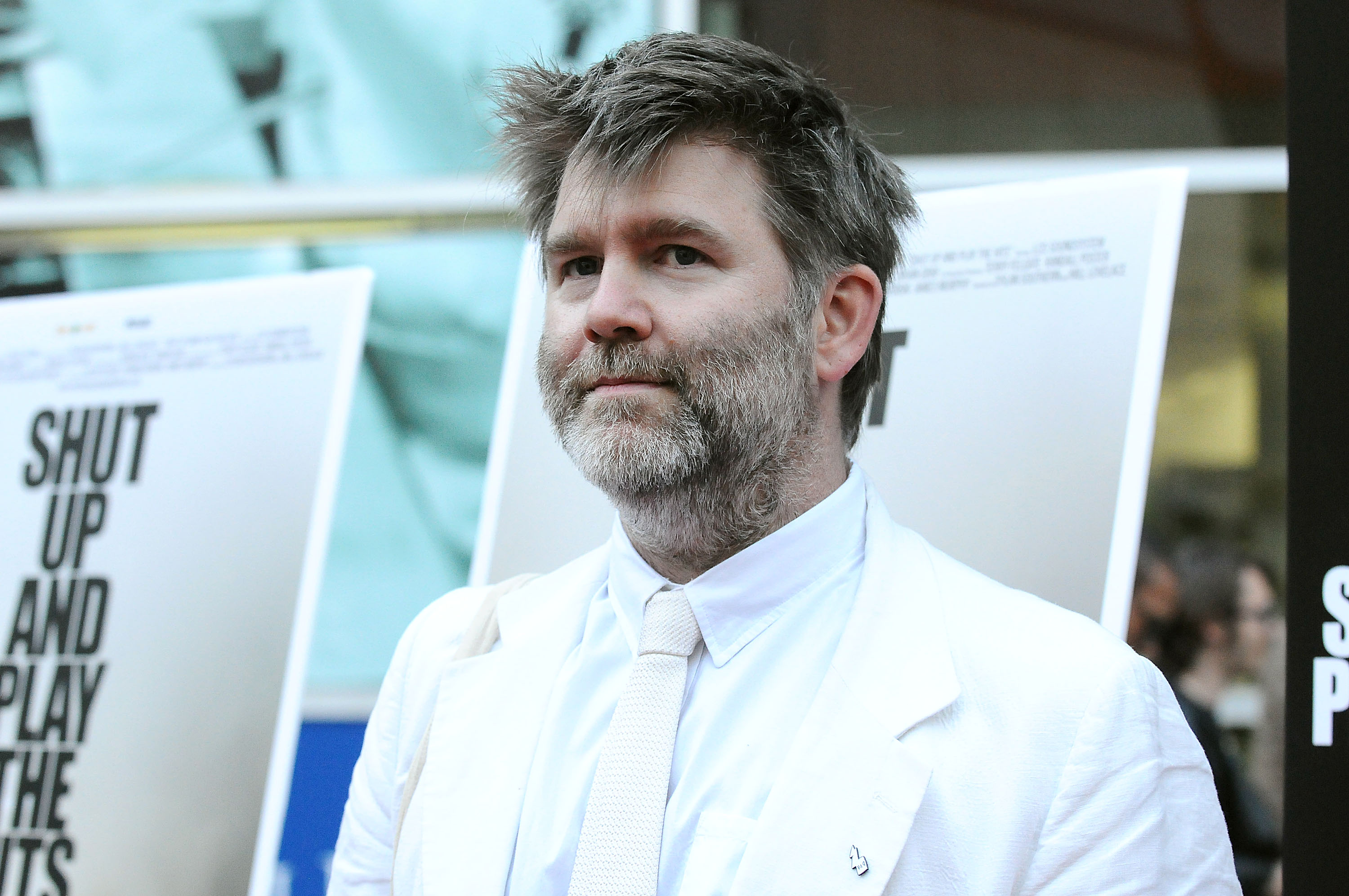HOLLYWOOD, CA - JULY 17:  James Murphy of LCD Soundsystem attends the premiere of 'Shut Up And Play The Hits' at ArcLight Cin