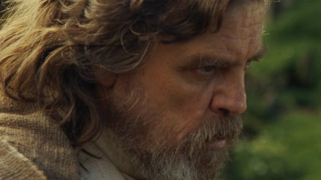 Mark Hamill als Luke Skywalker in Star Wars - Episode 8