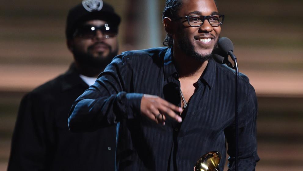Mit fünf Grammys der klare Gewinner des Abends: Kendrick Lamar.