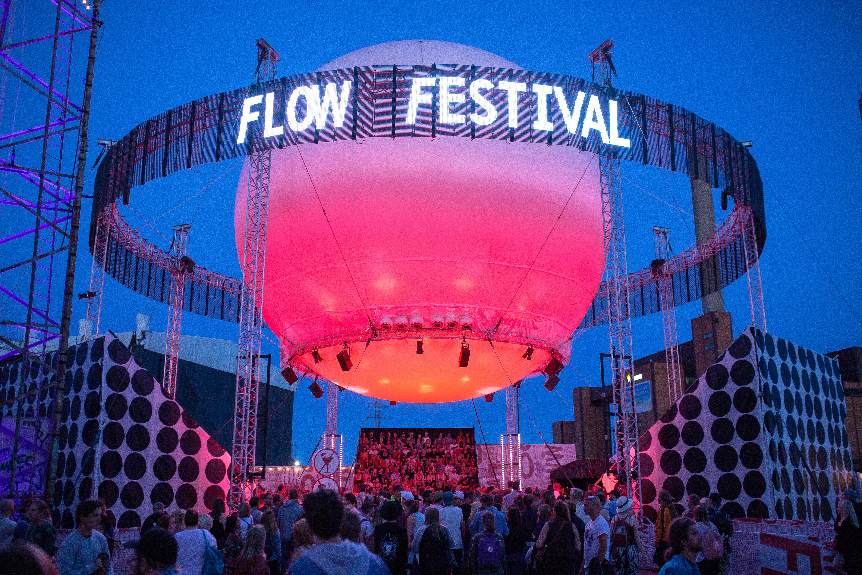 Das Flow Festival 2016 findet vom 12. bis zum14. August im finnischen Helsinki statt.