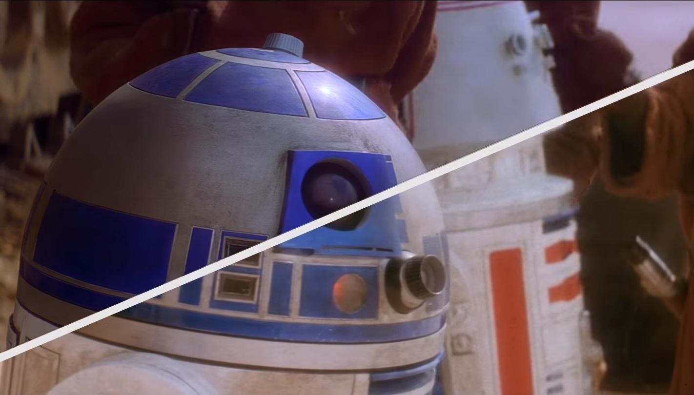 """Blick in die Vergangenheit: So sah """"Star Wars"""" aus, als es 1977 in die Kinos kam."""