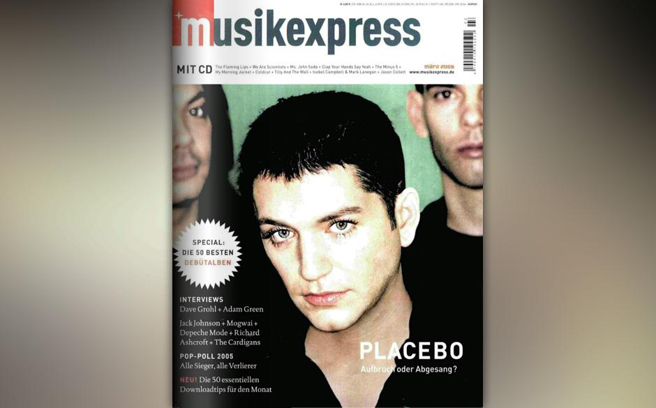 So sah der Musikexpress vor 10 Jahren aus:
