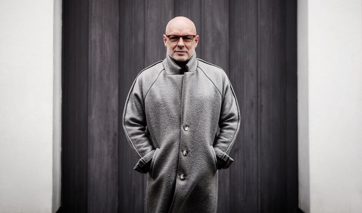 """Brian Eno unterstützt die britische """"Remain""""-Kampagne."""