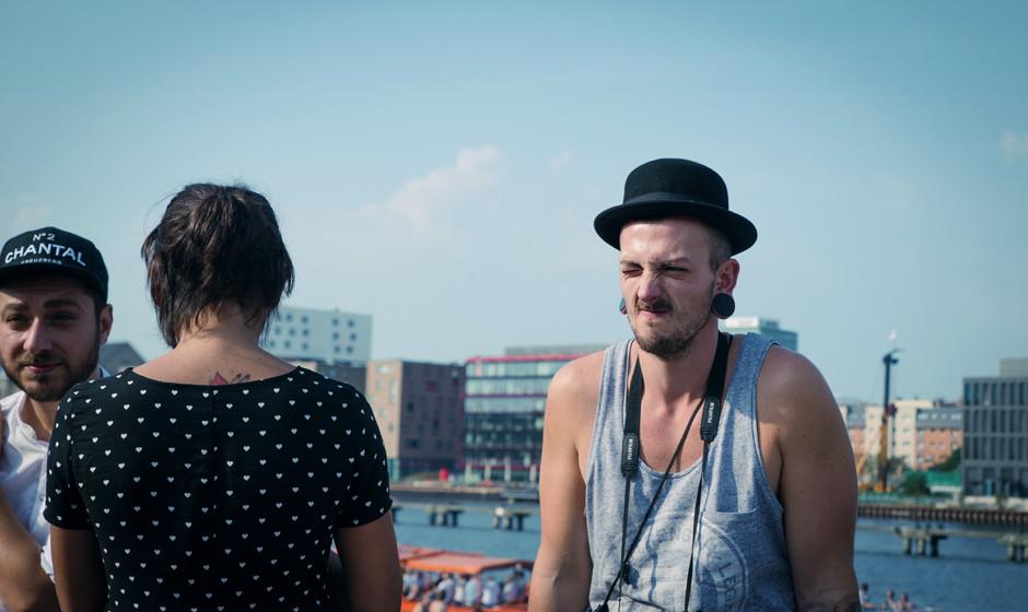 Kann sich noch nicht so recht mit dem Gedanken anfreunden: Ein Besucher des vorerst letzten Berlin Festivals (2015)