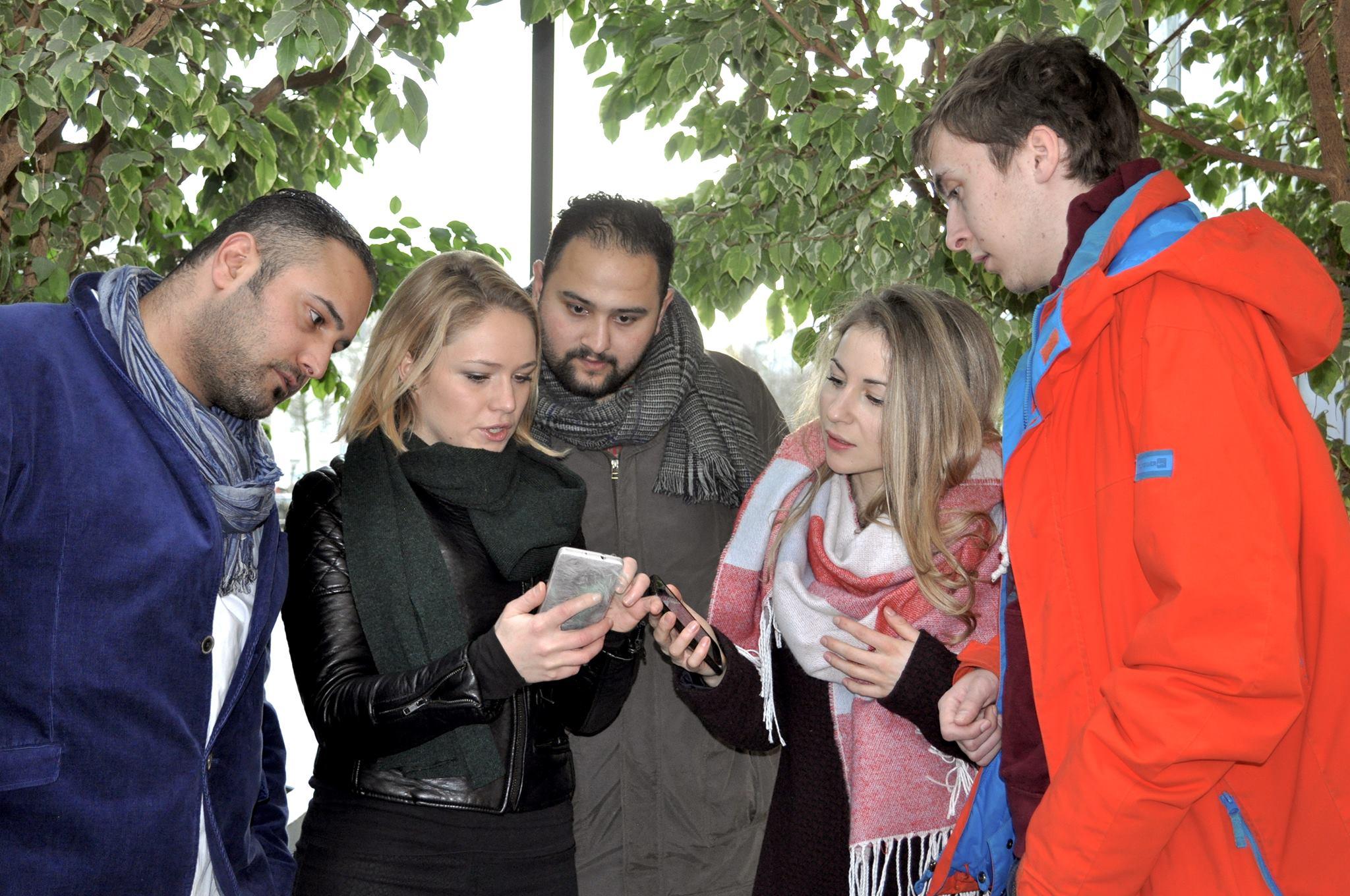 Das Team hinter der Beto-App.