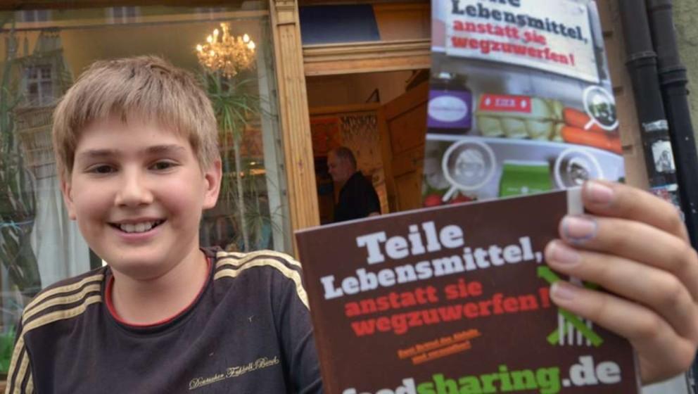 Fairteiler-Werbeaktion, leider ließen sich die Berliner Behörden nicht überzeugen.