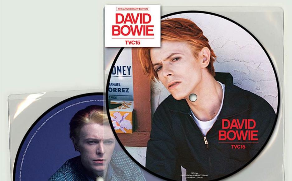"""Die Single """"TVC 15"""" erscheint beim diesjährigen Record Store Day als Reissue."""