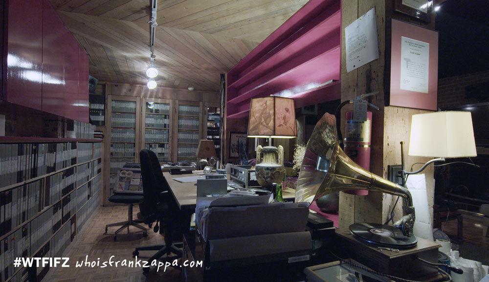 Die eBay-Auktionsseite erlaubt einen Blick in das Anwesen Zappas.