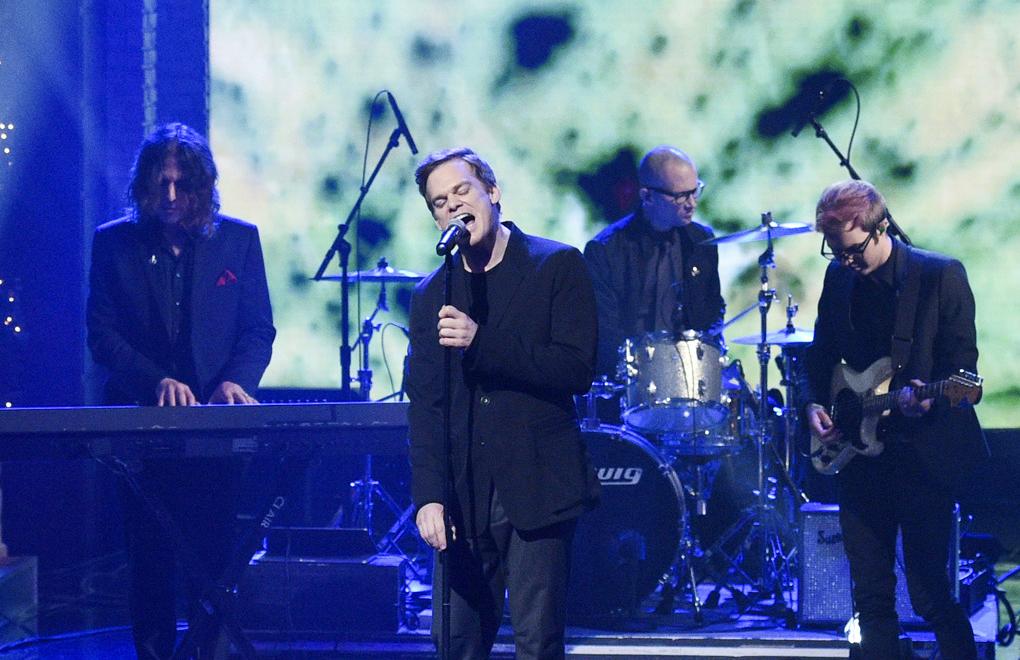 """Michael C. Hall stand ebenfalls für David Bowies Musical """"Lazarus"""" auf der Bühne."""