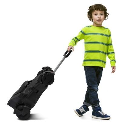 Batmobile-Luggage-Kid