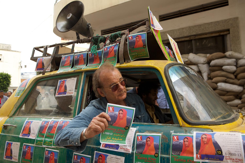 Bull Murray strandet als Bandmanager in Kabul.