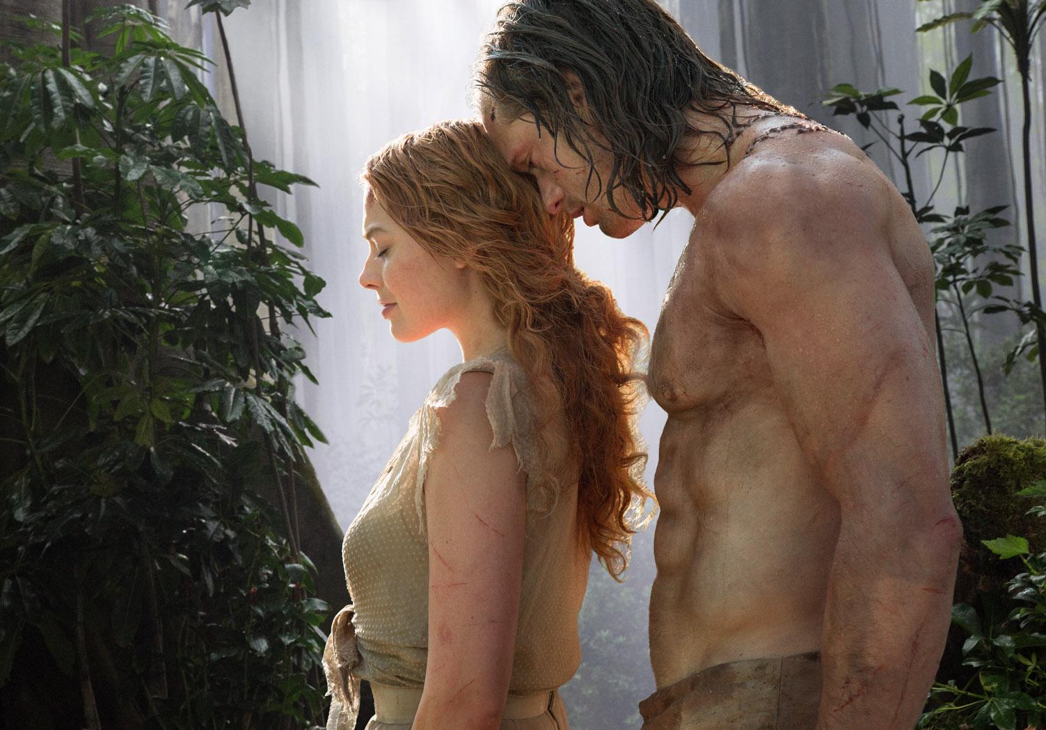 Jane (Margot Robbie) und Tarzan (Alexander Skarsgård).