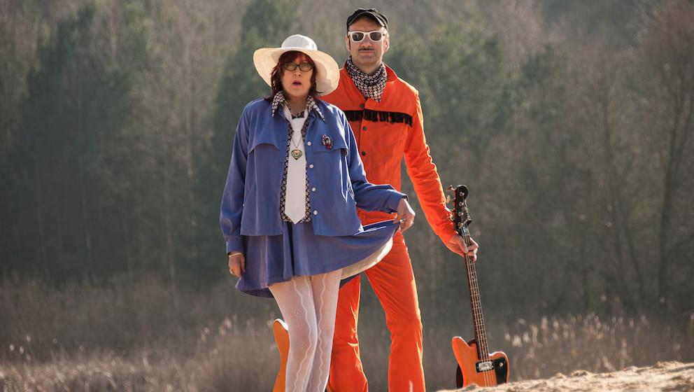 Im April kommt das deutsch-französische Duo Stereo Total gleich drei Mal ins Berliner Lido.