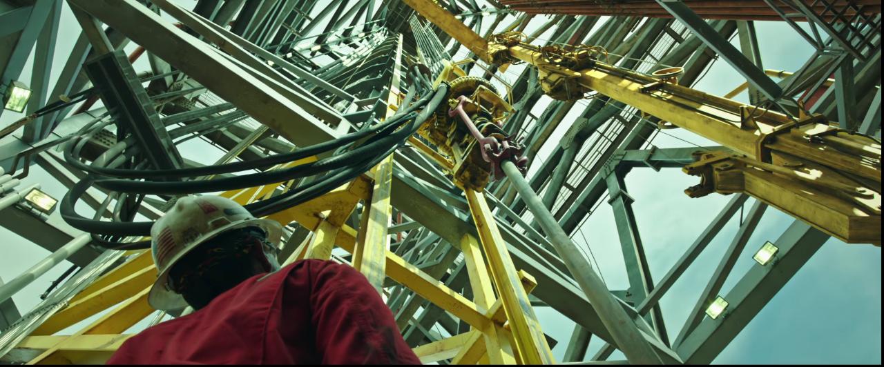 """Rekonstruktion einer Katastrophe: Die Bohrinsel """"Deepwater Horizon"""" ging 2010 in Flammen auf."""