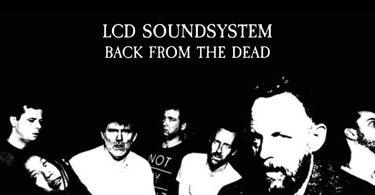Comeback-Ankündigung 2016 von LCD Soundsystem